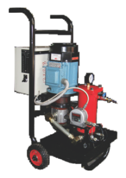 Filtration Trolley With Contamination Sensor
