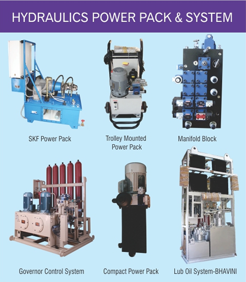 Hydraulics Power Pack & System